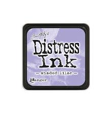 Tim Holtz Distress Mini Ink Pad - Shaded Lilac