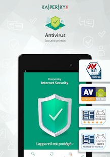 Kaspersky Protection Antivirus & Sécurité Internet Capture d'écran