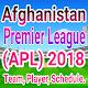 Afghanistan Premier League (APL) 2018 Download on Windows