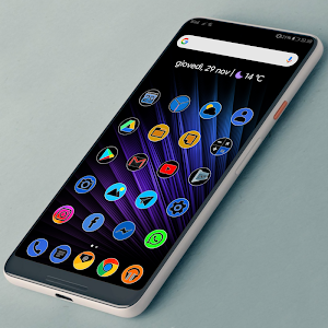 PIXEL FLUO - ICON PACK 1 0 (Patched) APK for Android