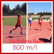 cto Mallorca alevin 500m Daniela Romero Enrici Balbo