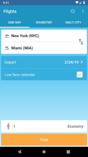 Flights 3.9.5 screenshots 1
