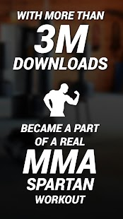 MMA Spartan System Workouts & Exercises Pro Screenshot