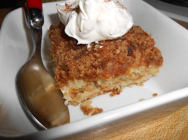 Cream Cheese Apple  Brunch Cake - Cassies Recipe