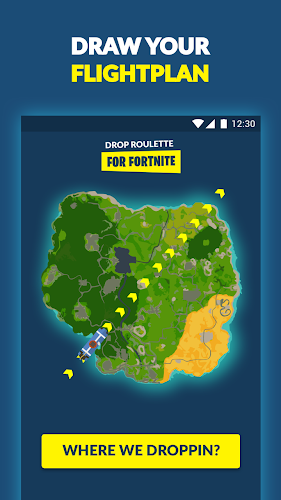 Drop Roulette for Fortnite Android App Screenshot