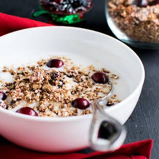 5 Ingredient Cranberry Quinoa Granola.