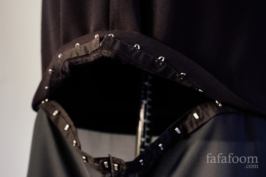 Detail Picture: Removable Dress Extension - DIY Fashion Garments | fafafoom.com