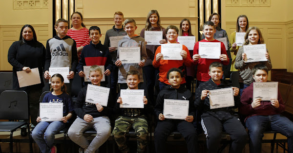 Knox County Academic League Ceremony - January 9, 2020
