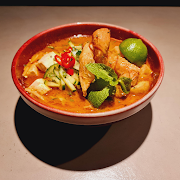 Vegan Melaka Curry Laksa