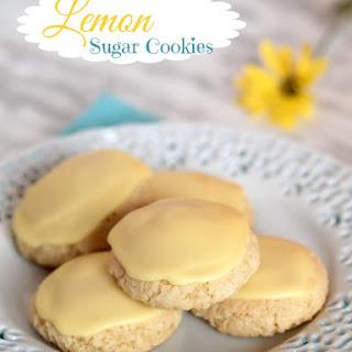 Gluten Free Lemon Sugar Cookies