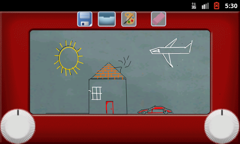 Etch A Sketch Pad Color- screenshot