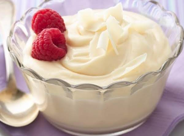 10-minute White Chocolate Mousse