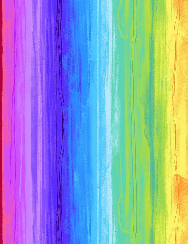 Rainbow Watercolor Stripe (16242)
