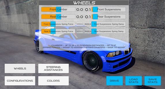 Air Camber Suspension - náhled