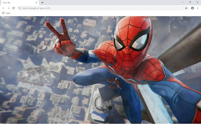 Spider Man New Tab & Wallpapers Collection