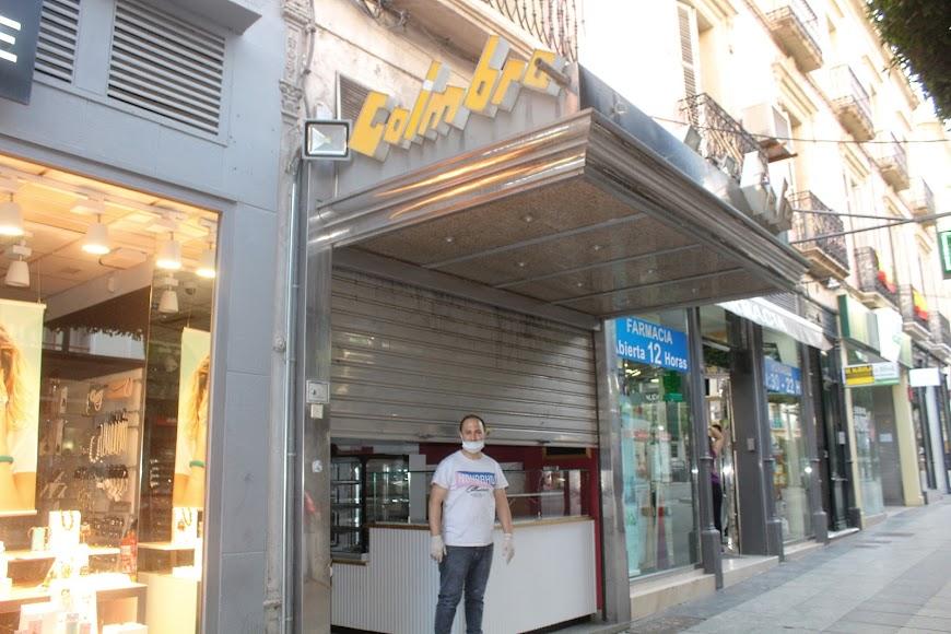 Cafetería Coimbra, ubicada en Paseo de Almería.