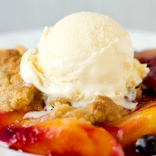 Peach and Blueberry Crumble Recipe