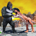 Monster Dinosaur Rampage: Angry King Kong Games icon