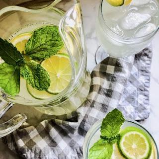 Fresh Squeezed Lemon Limeade Recipe