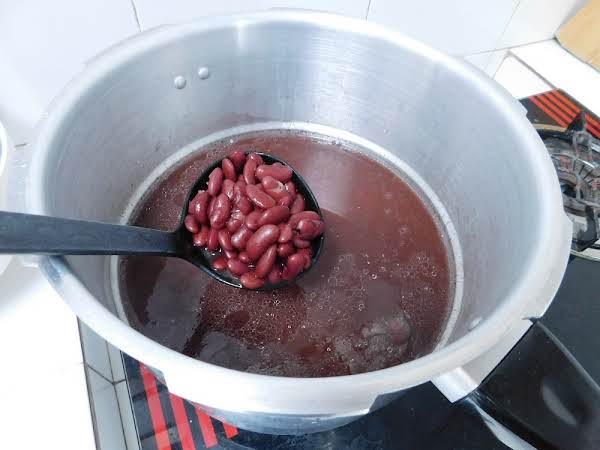 Red Kidney Beans (pressure Cooker) Recipe