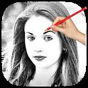 حول صورتك إلى رسم بقلم الرصاص icon