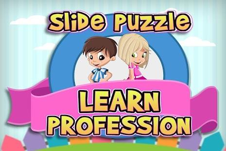 Slide Puzzle: Naučte se profe - náhled