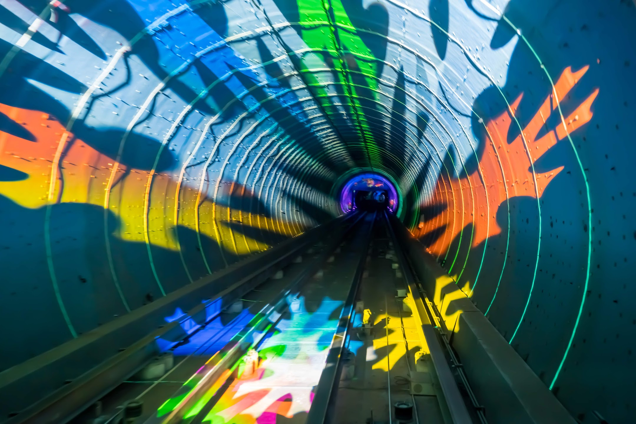 Shanghai Bund Sightseeing Tunnel2