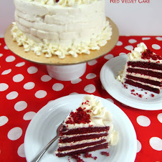 Red Velvet Cake/Easy,Moist Homemade Red Velvet Cake.