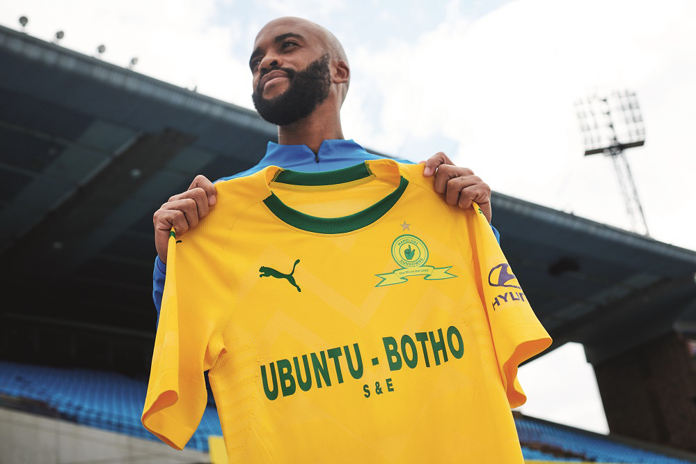 Champions Mamelodi Sundowns unveil new kit