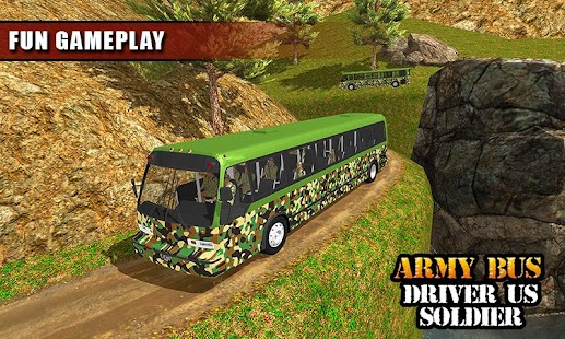 Army Bus Driver US Soldier Transport Duty 2017 - náhled