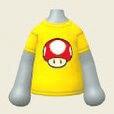 スーパーキノコのシャツ