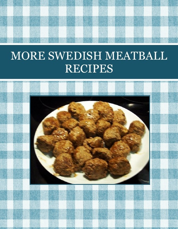 MORE SWEDISH  MEATBALL RECIPES