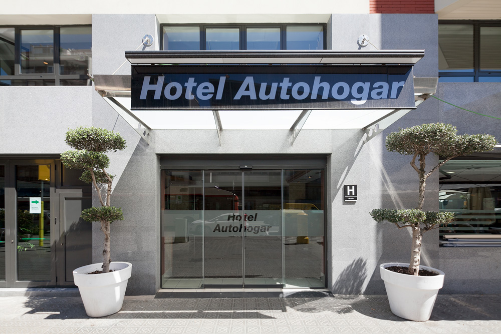 Location Hotel Autohogar Barcelona Official Web