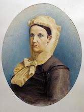 Photo: Fridricho Rericho žmonos portretas. Nikolajaus Rericho tėvo pusbrolio. Nutapytas 1898m. dailininkas A.Baumanis. (Liepojos muziejaus archyvas, LM 14537).