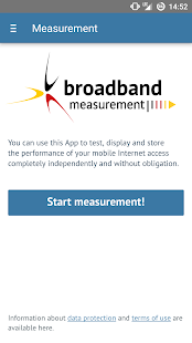 Broadband Measurement- screenshot thumbnail