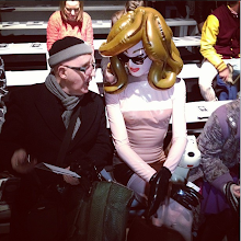 Photo: LFW - front row at PPQ Fall 2013.  @fashiontv
