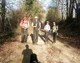 Photo: 15h23` La randonnée prend fin. le chien est toujours là