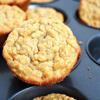 Healthy Banana Breakfast Muffins.