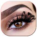 Eyelashes Makeup Photo Editor icon