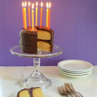 Paleo Vanilla Birthday Cake