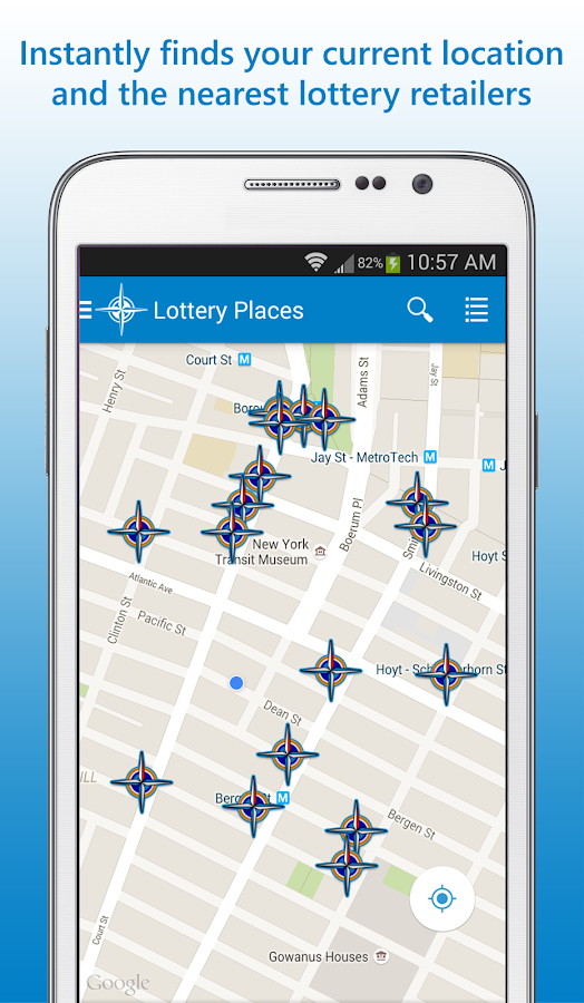 Lottery Places- screenshot