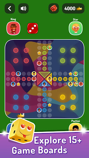Ludo Parchis: classic Parcheesi board game - Free screenshots 2