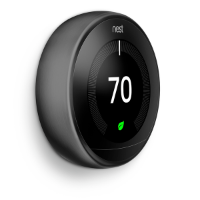 nest thermostat 3rd gen black