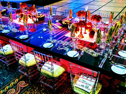 Custom event design, printing, floral, event rentals and management.  By Dzign is the source for all your event needs.