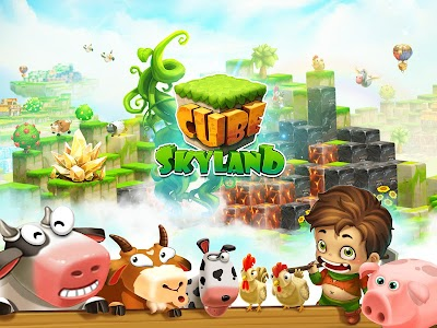 Cube Farm: Skyland Craft v1.1.15a Mod Money + Food