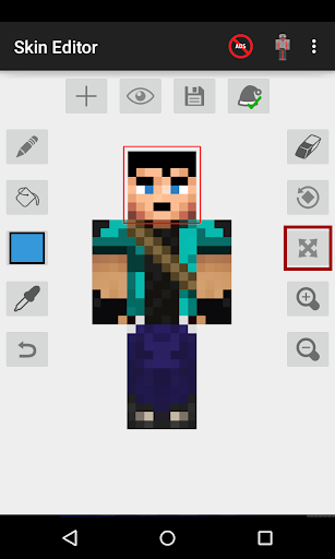 Skin Editor for Minecraft 2.2.9 screenshots 1