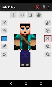 Skin Editor for Minecraft MOD 2.2.8 (Unlocked) APK 1