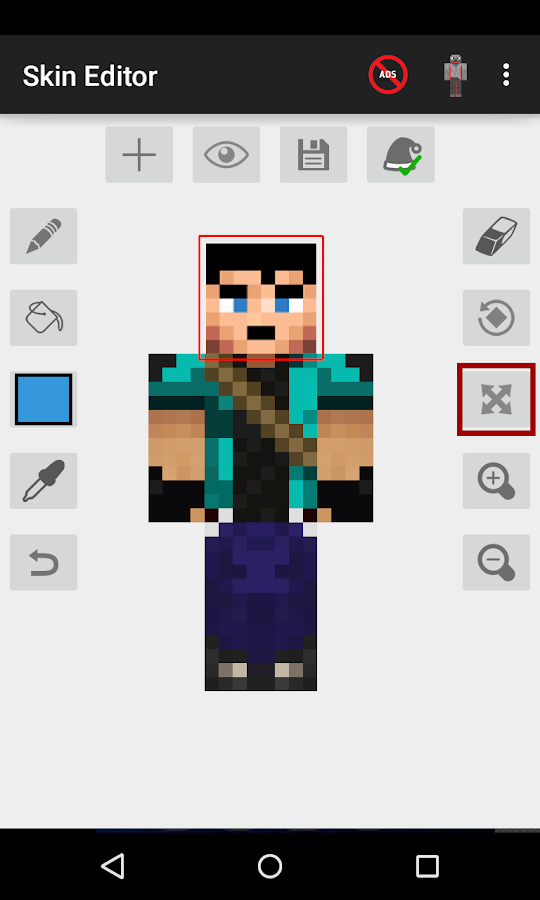 Screenshots of Skin Editor for Minecraft for iPhone