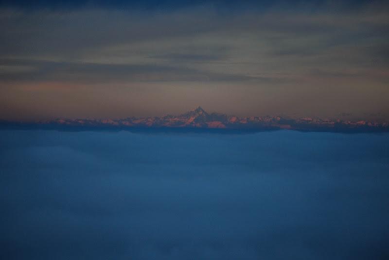 Mare di nebbia e Monviso di Zanna90