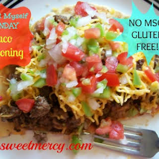 Taco Seasoning Mix – No MSG!.